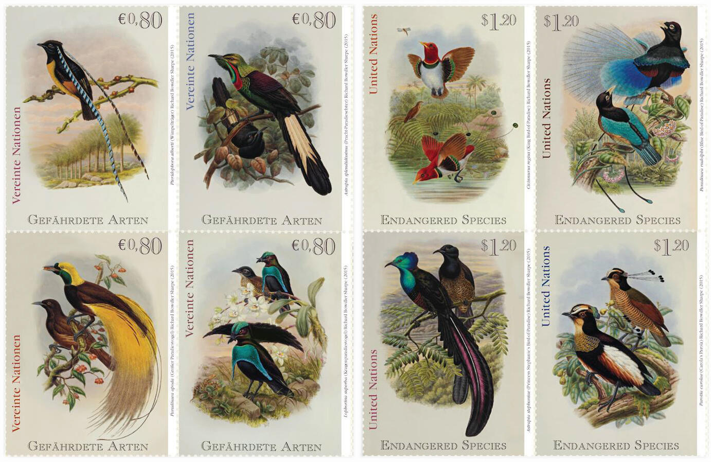 Bird-of-Paradise Stamps, On Sale Now | Audubon