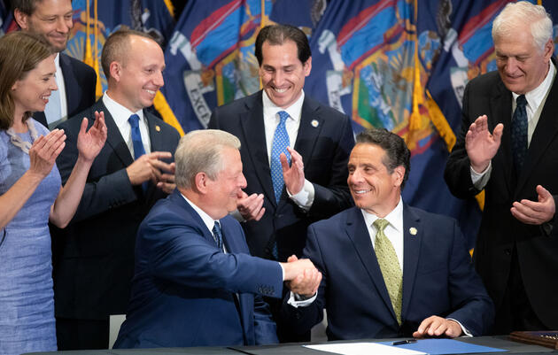 Landmark New York State Climate Bill Signed Into Law