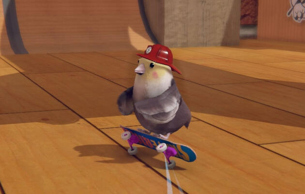 Birds of a Feather Kickflip Together in a New Crowdfunded Video Game