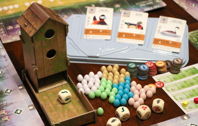 Birds Star In One of This Year's Hottest Board Games