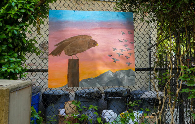 Swainson's Hawk by Sarah Kenny Werner and Harlem Educational Activities Fund