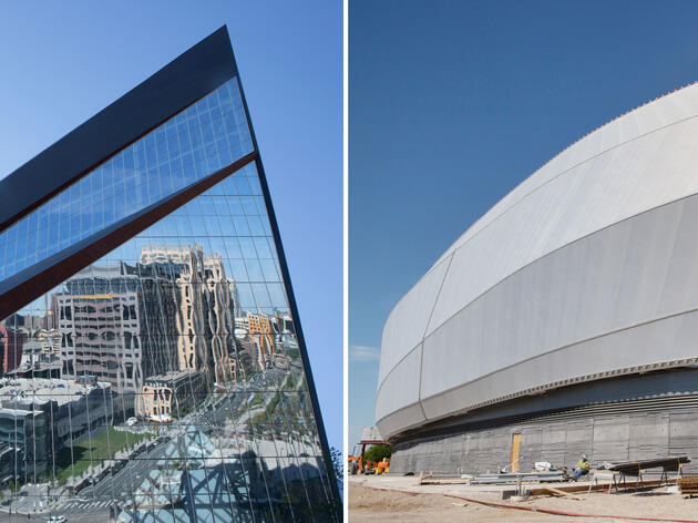 Minnesota's Newest Sports Stadiums Take Very Different Approaches to Bird Safety