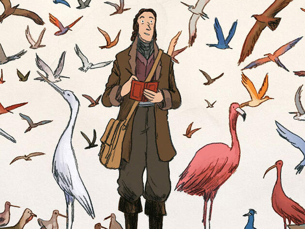 A New Graphic Novel Chronicles the Adventures of John James Audubon