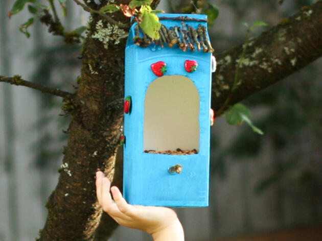 Make a Bird Feeder Out of Recycled Materials