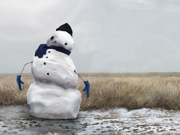 Watch: Avalanches of Snowmen Are Headed North to Escape Climate Change