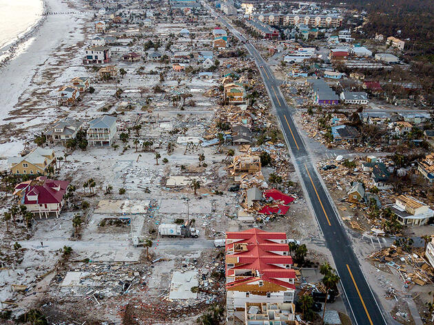 How Hurricane Michael Affected the Florida Panhandle's Coastal Landscape