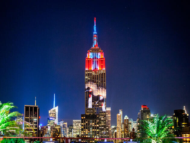 Endangered Species Take Over Empire State Building