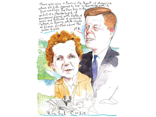 Rachel Carson and JFK, an Environmental Tag Team