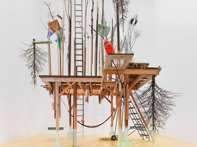 Incredibly Elaborate Homes of Bowerbirds Inspire New Art Exhibit