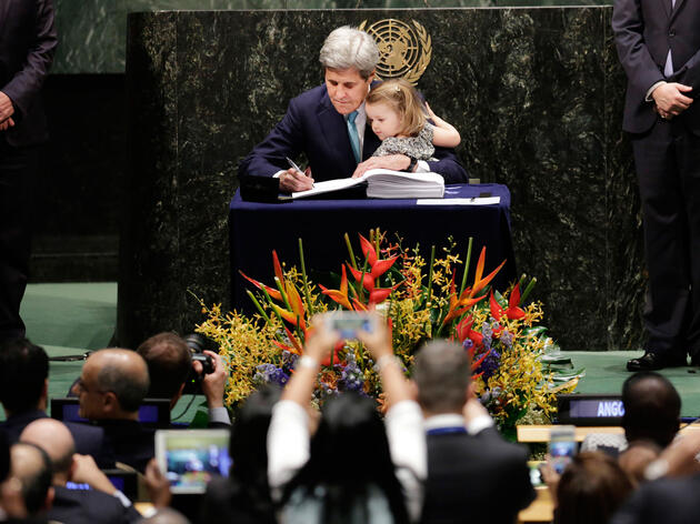 Record Number of Countries Sign International Climate Deal