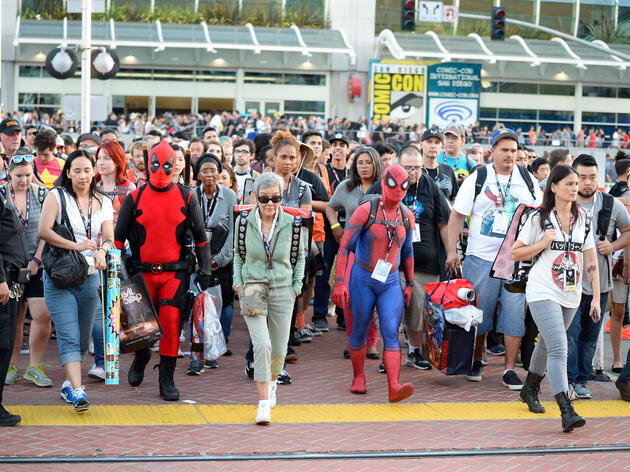 The Story Behind the Friendly Comic-Con Bird Mascot