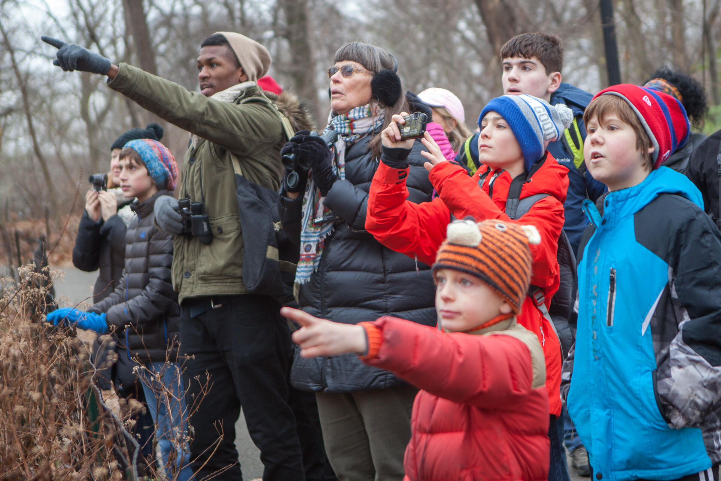 Christmas Bird Count, Camilla Cerea/National Audubon Society